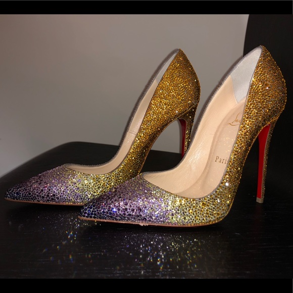 e982d946da5f Christian Louboutin Shoes | New Louboutin So Kate Strass Crystals ...